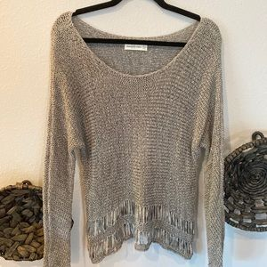 Abercrombie & Fitch pale gray sweater M / L